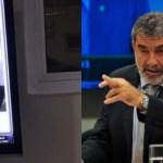 laerte bessa - Ex-deputado é flagrado ameaçando porteiro, 'Vou dar um tiro na tua cara'