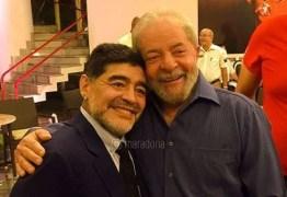 'HOY SE HIZO JUSTICIA': Maradona comemora liberdade de Lula