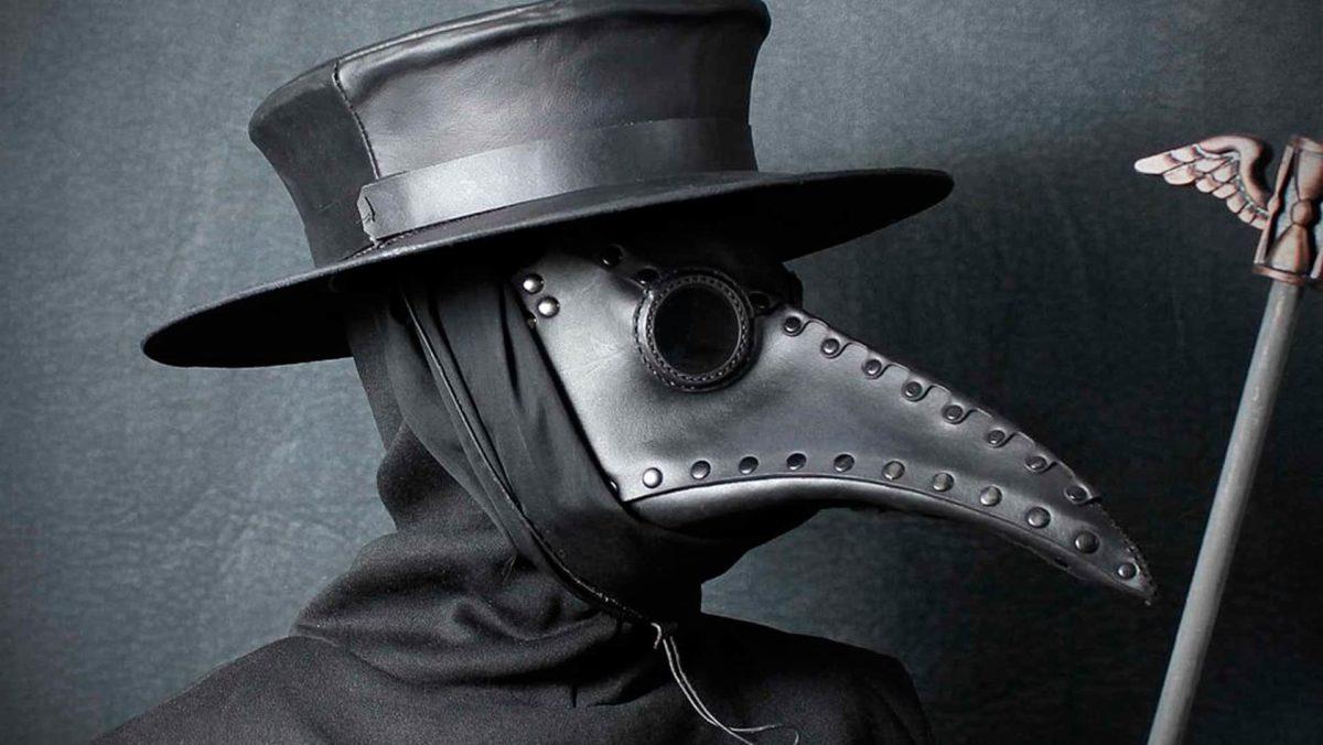 mascara da peste negra - PESTE NEGRA: 2 pessoas foram diagnosticadas com a doença na China