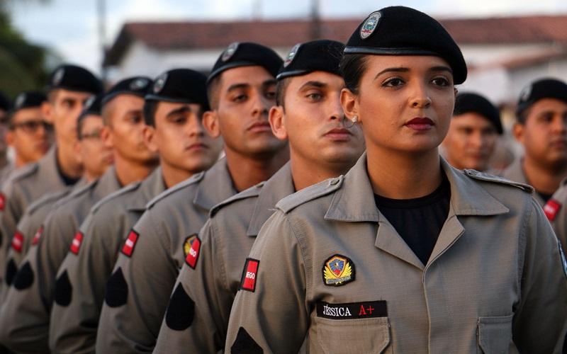 polícia militar pm paraíba - Candidatos convocados para a nova turma de soldados da Polícia Militar iniciam a pré-matrícula
