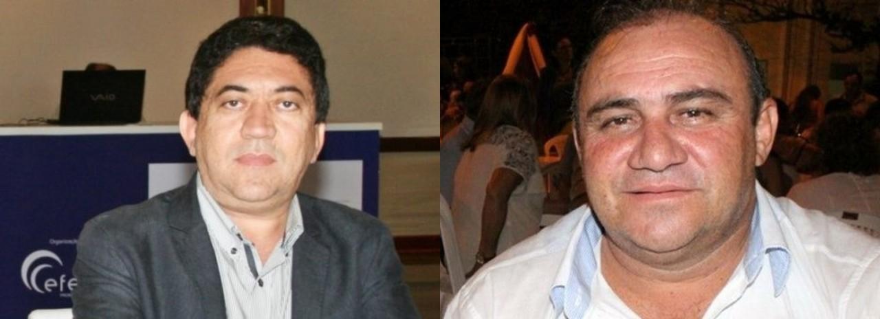 presos 1 - OPERAÇÃO RECIDIVA: Ex-prefeito de Triunfo e ex-prefeito de Catingueira tem mandados de prisão decretados por envolvimento com fraudes em licitações
