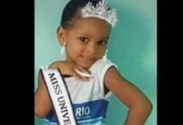 'Mãe, não chora não', disse menina de 5 anos antes de morrer baleada