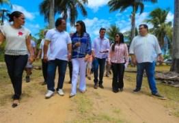 Governadora em exercício Lígia Feliciano visita Porto de Cabedelo e Pólo Cabo Branco