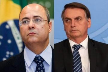 witzel bolsonaro - Witzel promete processar Bolsonaro: 'Passou dos limites'