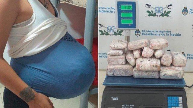xblog argentina.jpg.pagespeed.ic .owAjWT1 1R 1 - NARCOGRAVIDEZ: mulher é flagrada com 4 quilos de maconha em barriga falsa