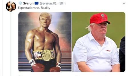 xblog trump balboa.jpg.pagespeed.ic .IKhJ406GPF - Trump posta foto em que se retrata como Rocky Balboa