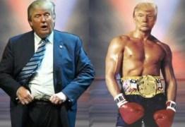Trump posta foto em que se retrata como Rocky Balboa