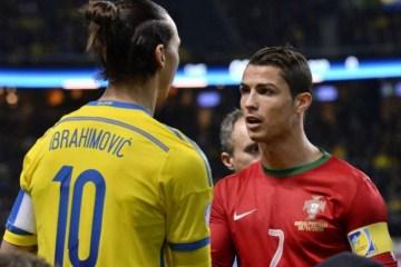 'Ronaldo só tem um, o brasileiro', dispara Ibra ao Voltar à Itália