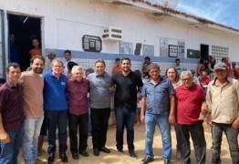Genival Matias parabeniza atendimentos do Programa Cidadão em Cachoeira dos Índios e São José de Caiana