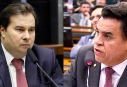 SORTE LANÇADA: Rodrigo Maia confirma que vai levar ao plenário decisão sobre afastamento de Wilson Santiago
