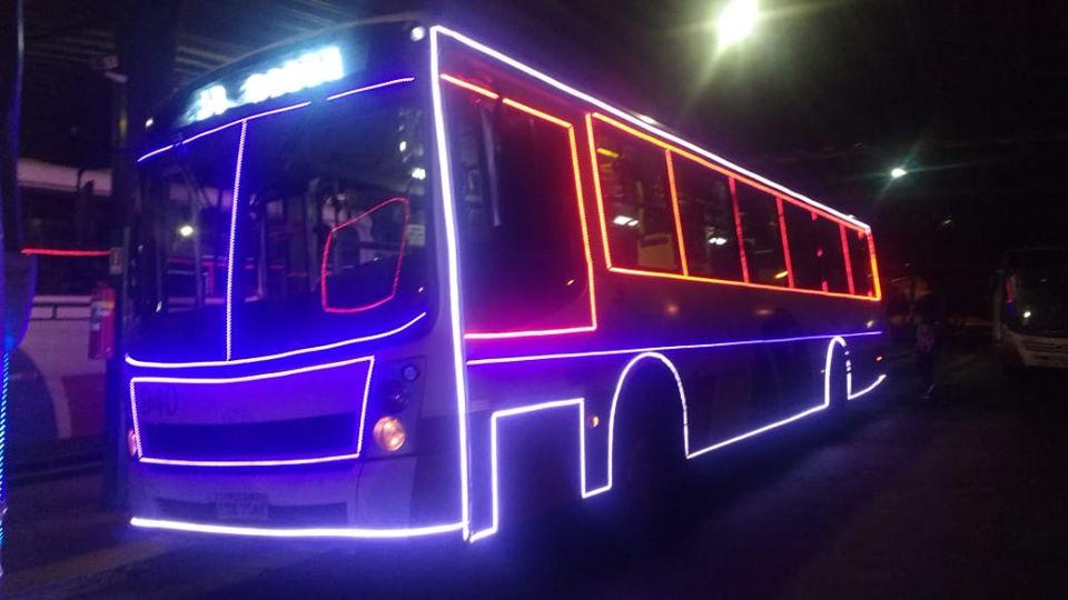 Bus Natalino Araras - Ônibus natalino começa a circular em João Pessoa
