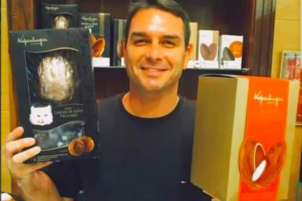 Capturar 40 - Flávio Bolsonaro lavou até R$ 1,6 milhão em loja de chocolate, diz Ministério Público