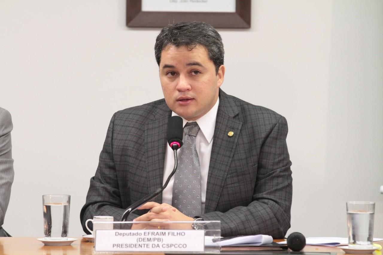 Efraim Filho - Efraim Filho fala sobre disputa pela liderança da bancada do DEM na Câmara dos Deputados - OUÇA