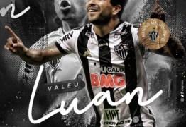 MENINO MALUQUINHO: Com votos de sucesso, Atlético oficializa saída de Luan
