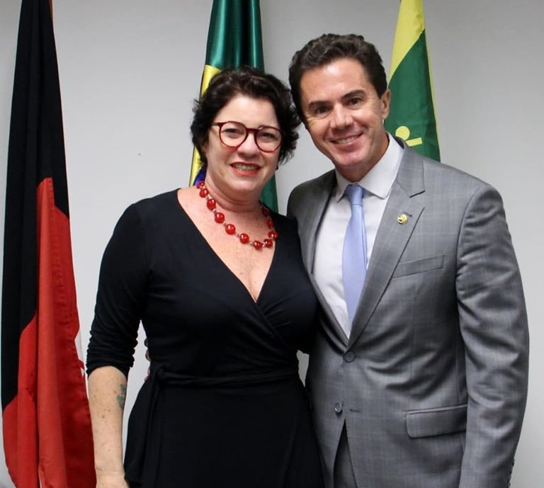 Prefeita Márcia Lucena e Senador Veneziano Vital - EMENDA DE VENEZIANO: Conde obtém recursos de 150 mil para a Saúde