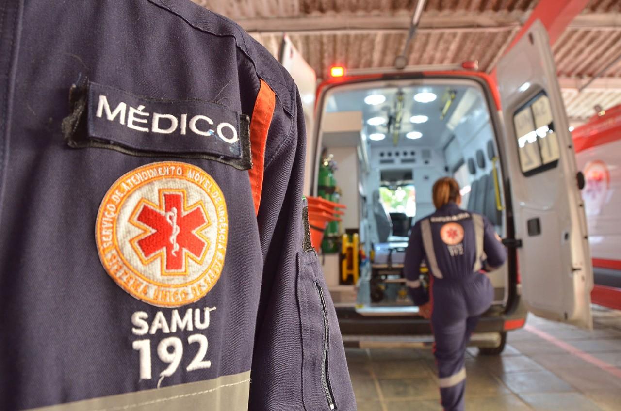 SAMU - Secretaria de Saúde alerta que população não deve acionar Samu e Bombeiros para coleta de exame do Coronavírus