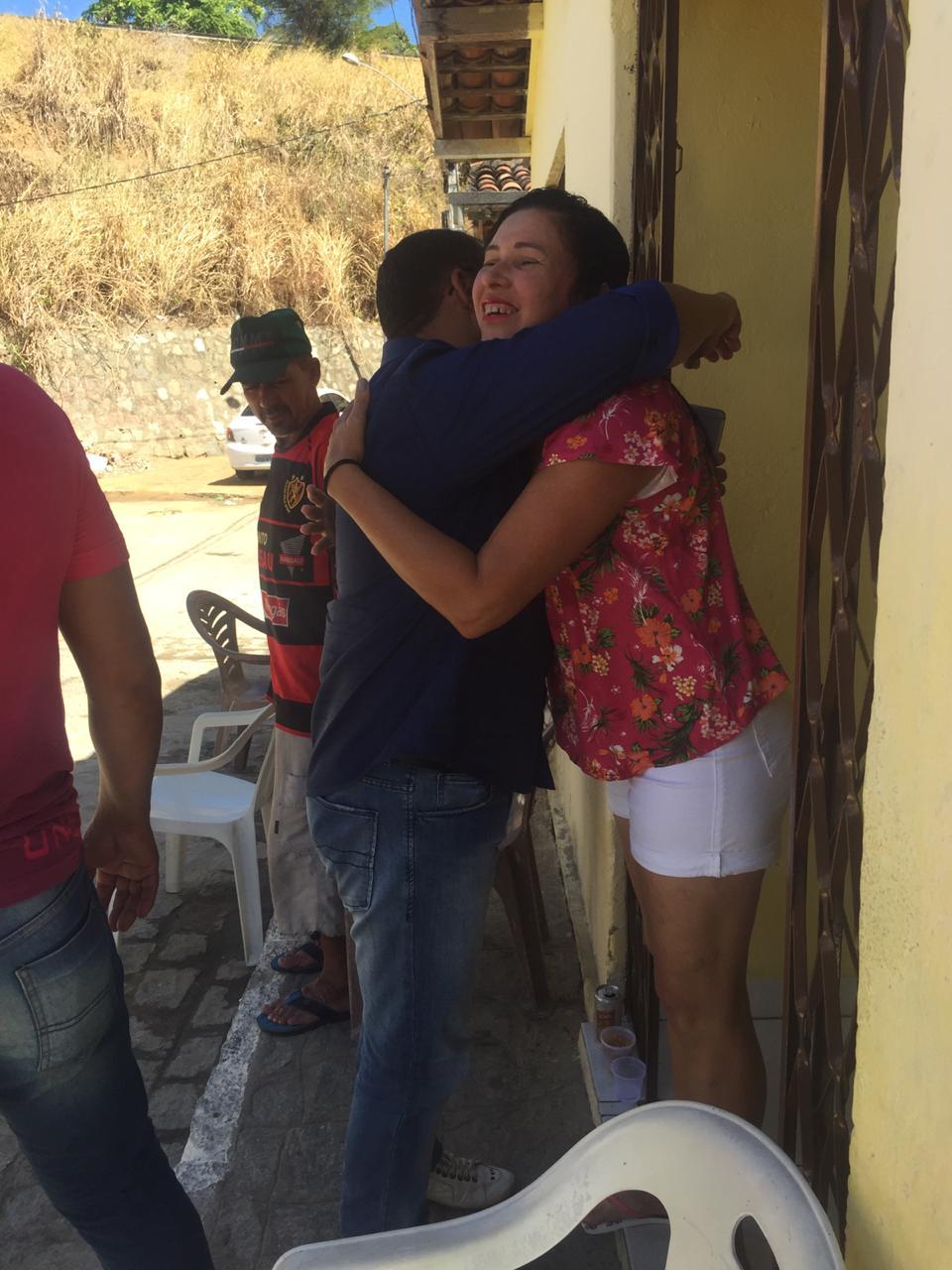 WhatsApp Image 2019 12 08 at 15.56.24 1 - ANIVERSÁRIO DA SÃO RAFAEL: Nilvan Ferreira faz ação de pré campanha em comunidade