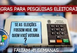 CONTAGEM REGRESSIVA: pesquisas eleitorais deverão ser registradas no TSE a partir de Janeiro