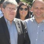 bruno e joao 750x375 - Filiado ao PSB, líder da oposição ao Governo Romero em CG rejeita RC e avisa que vai seguir ao lado de João Azevêdo