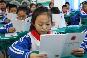 crianças chinesas - Por que a China lidera ranking de educação básica no mundo? Por Rodrigo Castro