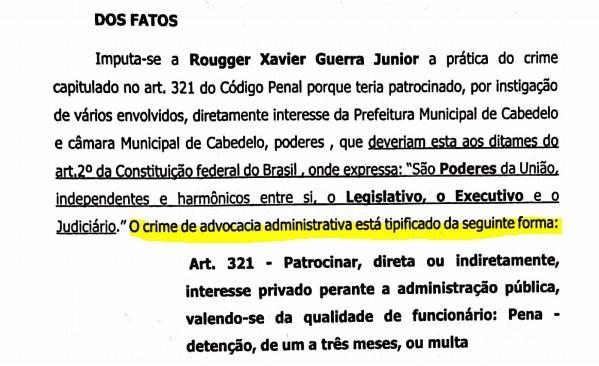 denuncia 01 - Ex-vereador de Cabedelo denuncia advogado de Lucas Santino por obter vantagens indevidas na gestão: 'Esposa e irmã ganham R$5 mil cada' - ENTENDA CASO