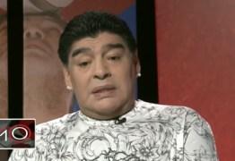 Maradona diz que sumiu por três dias após ser sequestrado por E.T