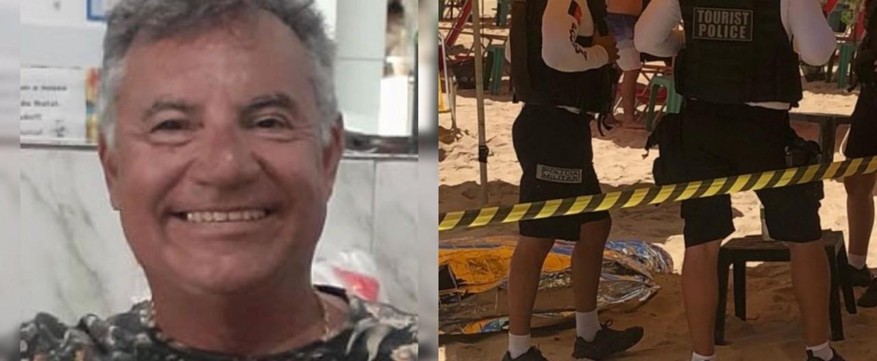 empresário golfinhos - EXECUÇÃO OU ASSALTO? Empresário assassinado no Golfinhos comemorava aniversário de 60 anos
