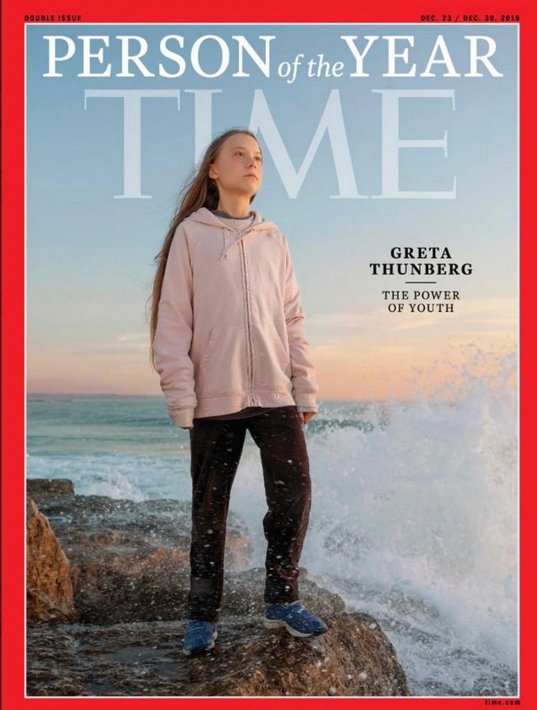 greta - Greta Thunberg é escolhida 'pessoa do ano' pela revista Time