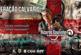 Ricardo Coutinho teria cobrado propina da Cruz Vermelha; OUÇA ÁUDIO