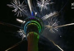 Já é 2020 na Nova Zelândia: festa tem fogos e show de luzes – VEJA VÍDEO