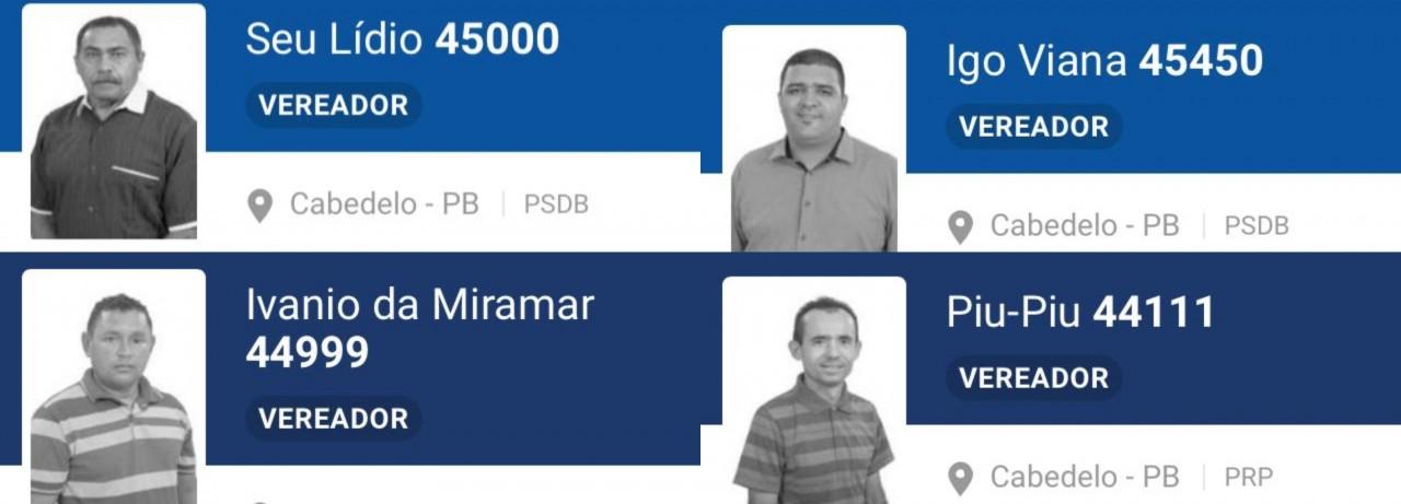 novos vereadores - OS SUPLENTES: Conheça os quatro vereadores que assumem após afastamento de investigados da Xeque Mate