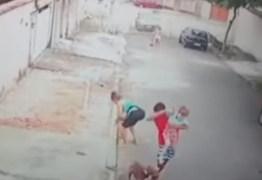 Jovem salva criança de ataque de pitbull – VEJA VÍDEO