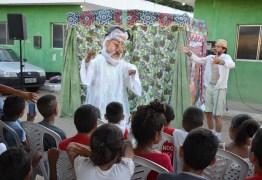 Projetos levam cultura e arte a alunos da rede municipal de Santa Rita
