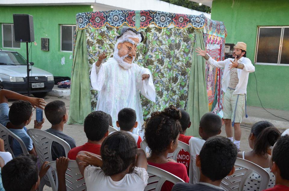 teatronapraca livramento2 - Projetos levam cultura e arte a alunos da rede municipal de Santa Rita