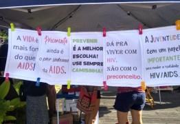 COMBATE À AIDS: Secretaria de Saúde realiza ação em Campina Grande