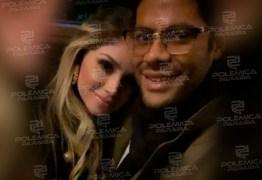 ROMANCE: Hulk Paraíba surge em foto agarradinho com a nova namorada, Camila Ângelo