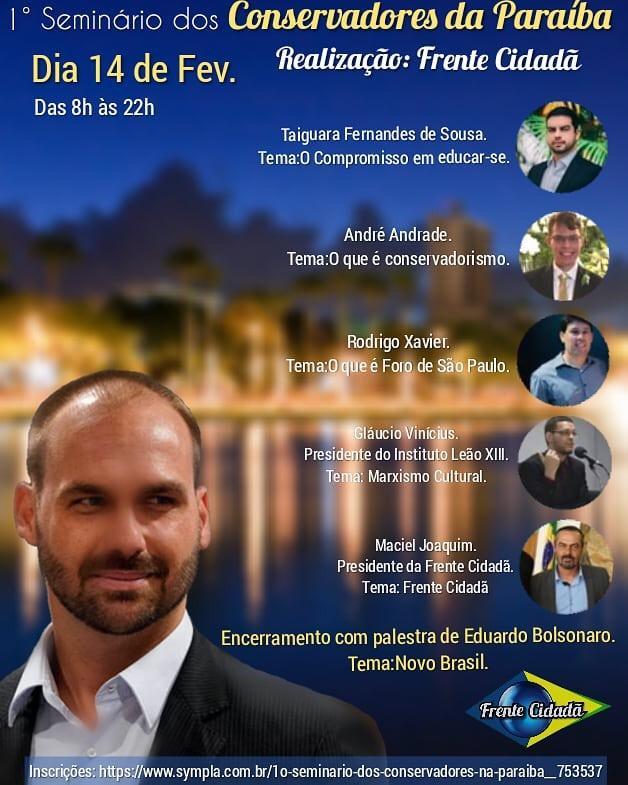 18e1fb3d 1f33 4a7a 9c32 068867fbb3e1 - O NOVO POTE DE OURO: Grupos se dividem sobre criação do partido de Bolsonaro na Paraíba