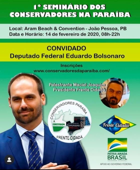 2 2 - O NOVO POTE DE OURO: Grupos se dividem sobre criação do partido de Bolsonaro na Paraíba
