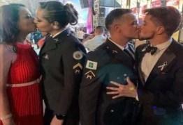 Promotoria vai investigar homofobia após beijos em formatura da Polícia Militar