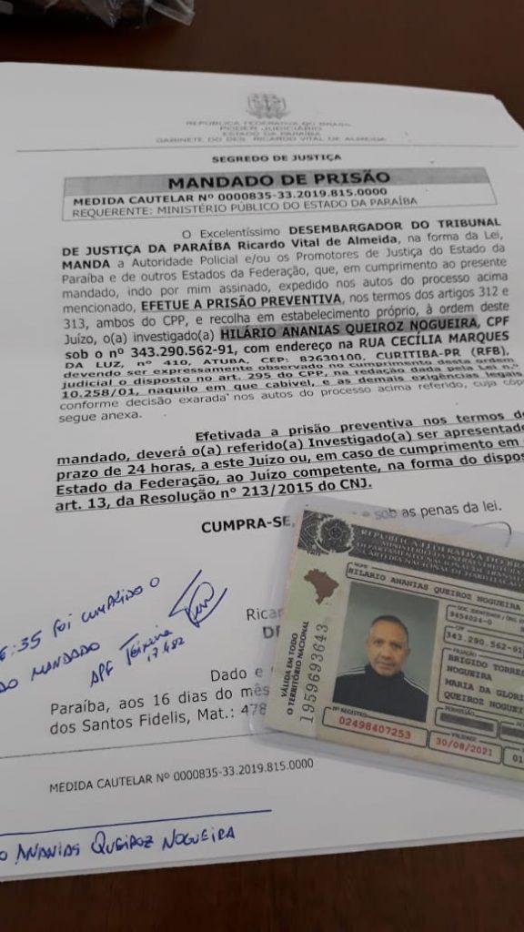 48A93693 AD6C 4796 B105 AFB992E5A1DC 576x1024 - OPERAÇÃO CALVÁRIO: Empresário que estava foragido é preso pela PF em Curitiba; Defesa impetrou pedido de habeas corpus ao STJ