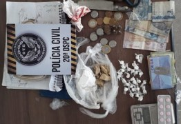 Polícia Civil prende homem suspeito de tráfico de drogas na Paraíba