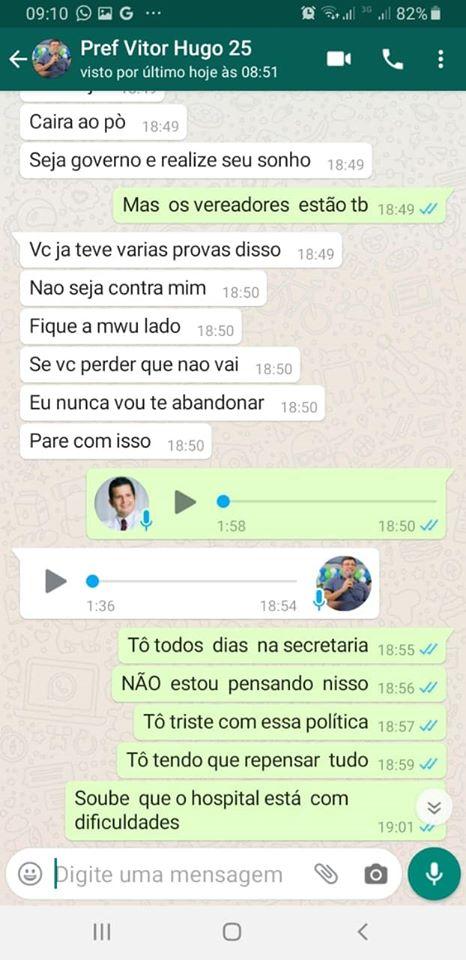 83403375 2716968065036933 9020746011089305600 o - BOMBA: ameaças e interferências vazam em conversa de Whatsapp entre prefeito de Cabedelo e ex-secretario de saúde - CONFIRA