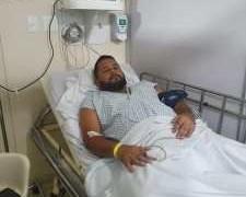 Vereador de Bayeux é internado às pressas para realizar cirurgia de emergência