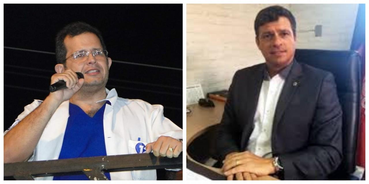 """BeFunky collage 5 - 'FUI TRAÍDO': ex-secretário de Saúde de Cabedelo revela sua decepção com Vitor Hugo e acusa prefeito de espalhar """"fake news"""""""