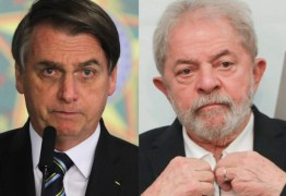 Bolsonaro torce por Lula livre e candidato em 2022