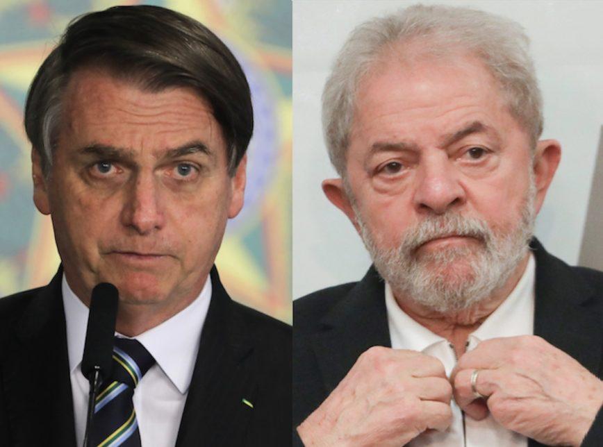 Bolsonaro e Lula 2 868x644 - Lula critica Bolsonaro por recorde de mortes pela covid-19