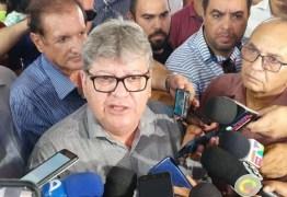 R$340 MILHÕES: João Azevedo anuncia aumento de 5% para todas as categorias