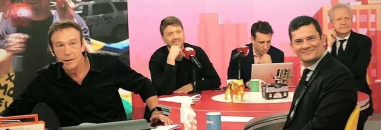 MORO NO PANICO - EM PÂNICO: Moro diz que Lula só deveria ter saído da cadeia depois de cumprir toda a pena