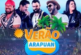 Fest Verão Paraíba: TV Arapuan transmite shows ao vivo a partir deste sábado
