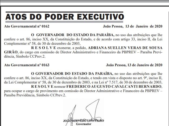 adrianasuellen - Diretora Administrativa da PBPrev pede exoneração do cargo
